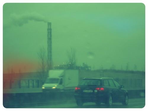 Autobahn nach Essen