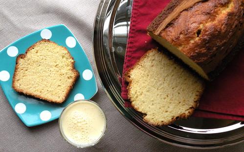 Mrs. Fields Secrets Egg Nog Pound Cake