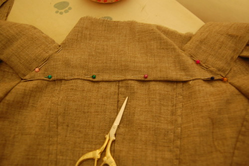 Making a robe a l'anglaise 40