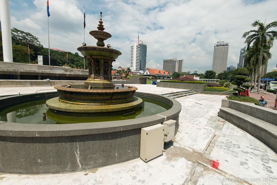 Kuala pumpur fontain