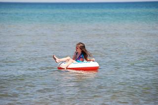 Olivia floats