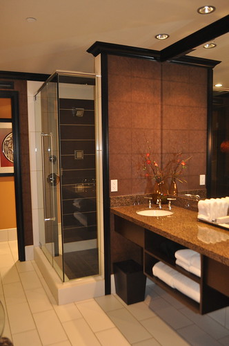 Bathroom Area at Tulalip Resort