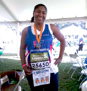 Corizon Employee runs in honor of Veda Hodge
