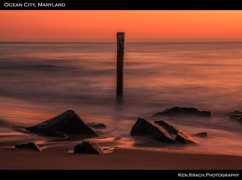 ocean sunrise oceancity atlanticocean