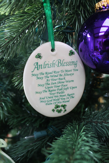 Irish Blessing Ornament from McGirrs