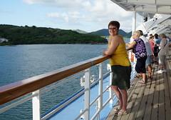 Lynne on Thomson dream Cruiseliner