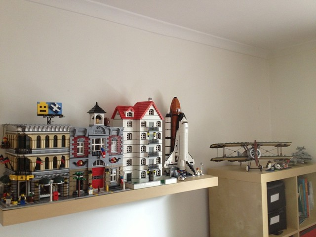 Current Lego Display