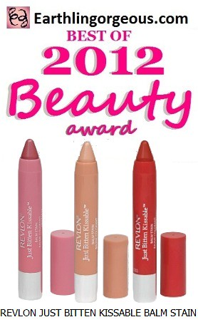 EG Beauty Awards 2012 Revlon Just Bitten Kissable Balm Stain