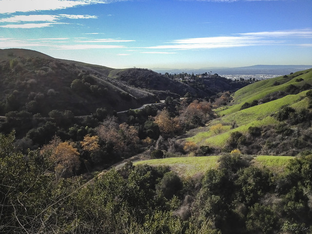View from Whittier hills