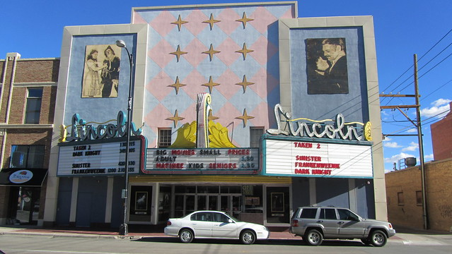 lincoln movie theater cheyenne wyoming flickr photo