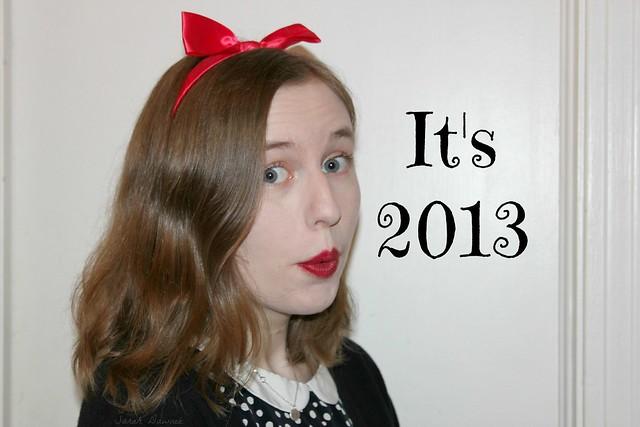 It's 2013.....