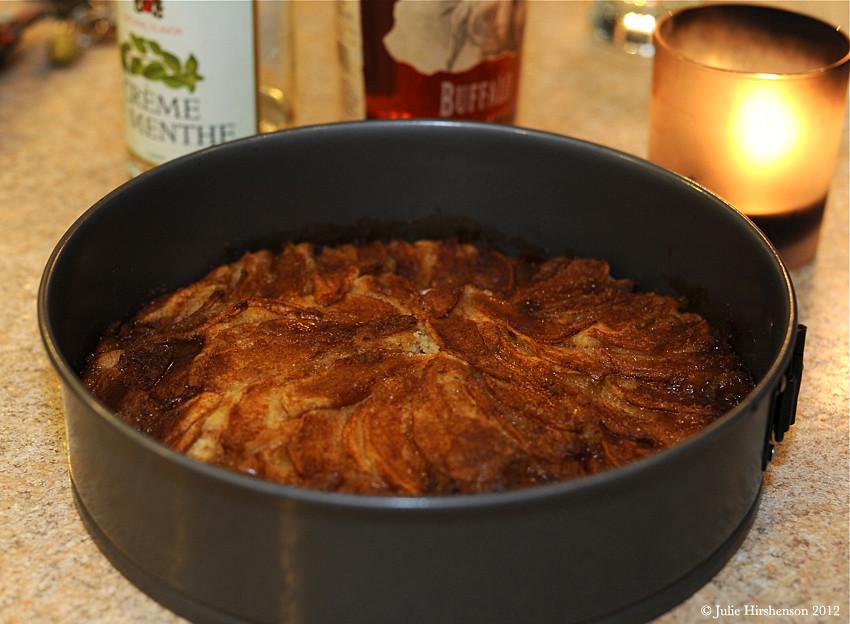 New Years Eve Feast - German Apple Cake