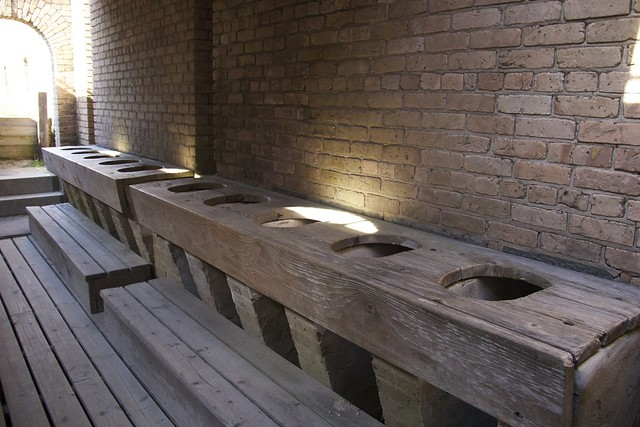 Fort Gaines Toilets