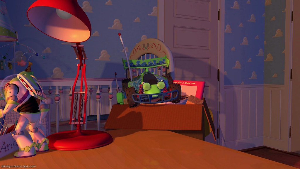 Red Luxo Ls 1 Toy Story 1995