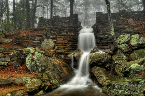 fog state made waterfalls cheahastatepark cheahawaterfallalabama parksman