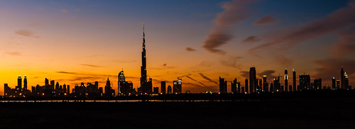 city sunset panorama skyline architecture canon buildings landscape photography photo dubai dusk uae efs cpl 30d 1755 themagichour ybs2013
