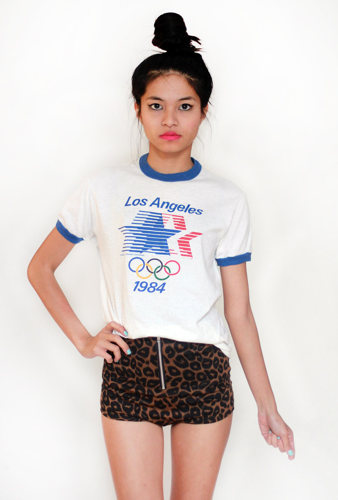 vintage 1984 LA olympics shirt by Tarte Vintage at shoptarte.com