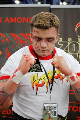 Zombie boxer...