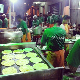 "Day 5: Cooks at the ""Avare Kaalu"" Mela (Field Beans Fest) #project365"