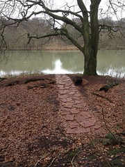 ysp / red slate line - Richard Long