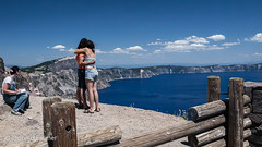 Love and Art at Crater Lake