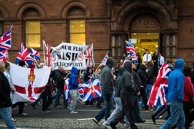 Union Flag protests, Belfast