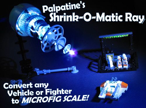 Palpatine's Shrink-O-Matic Ray Contest