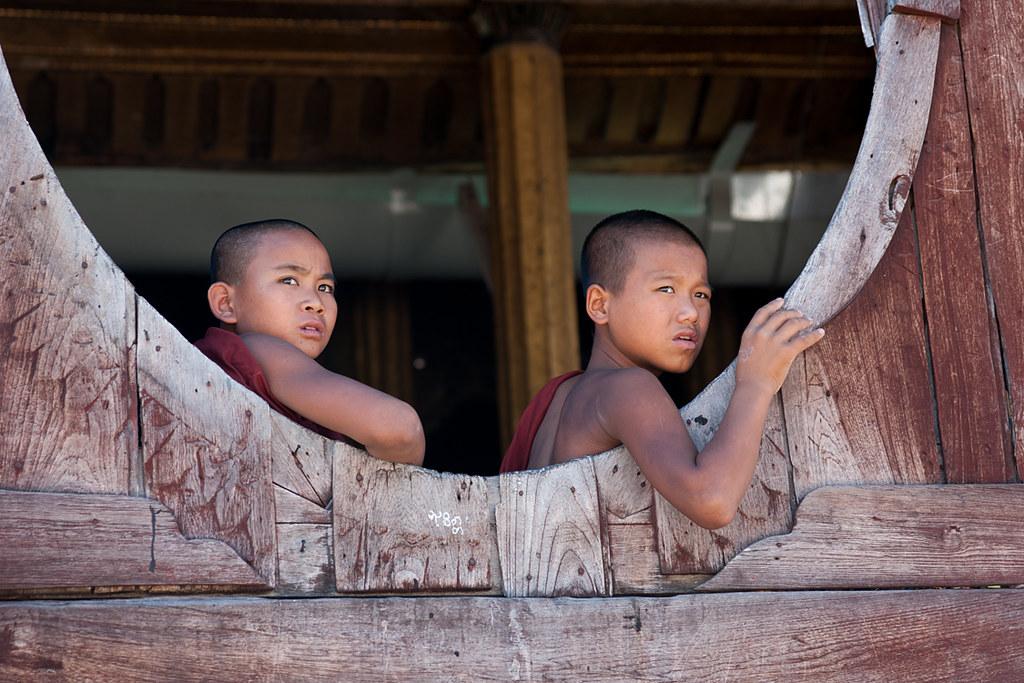 Shwe Yan Pyay Monastery, Nyaung-Shwe, Myanmar (Burma)