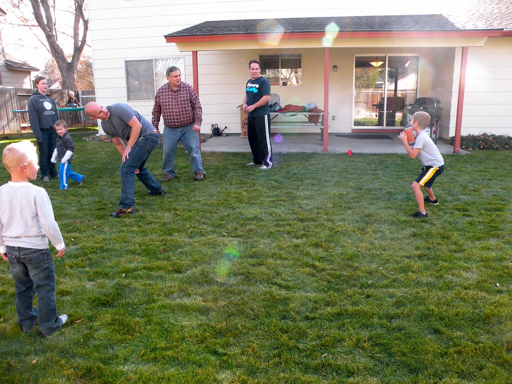 backyard football thanksgiving 2012