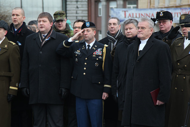 Memorial Day Ceremony to Commemorate the Victims of the Estonian War of Independence, January 3, 2013
