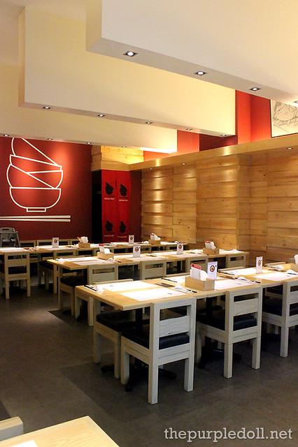 Inside Ramen Bar