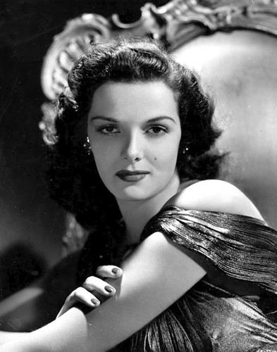Jane Russell glamour 1940s by Jack's Movie Mania
