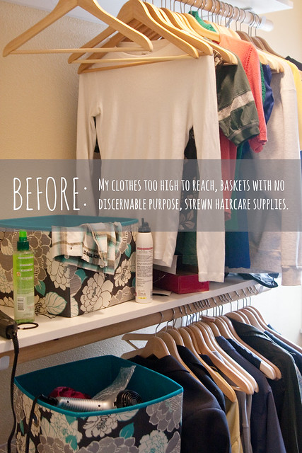 Closet, Before