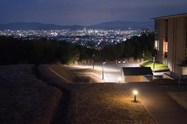 京都大学桂キャンパスからの夜景
