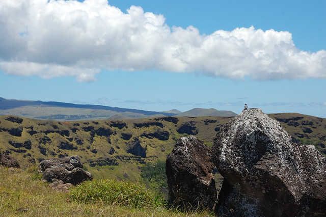 Views of Rano Kau from Orongo