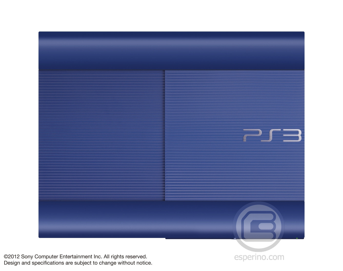 PS3 Super Slim Blue 1
