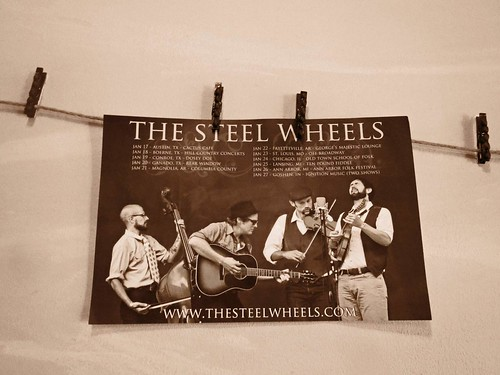 The Steel Wheels Poster