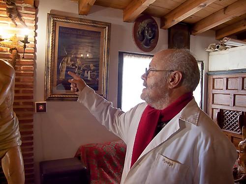 José Ajenjo, escultor leonés
