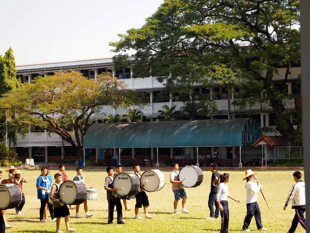 Thai School Marching Band