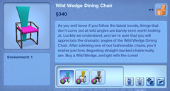 Wild Wedge Dining Chair