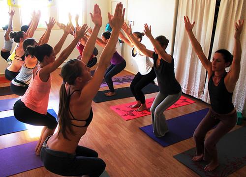 Yoga Pose, Photo Courtesy of Maui Yoga Shala and Ben Harper