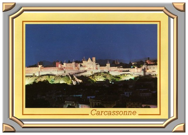 Carcassonne - Illuminations de la Cité -70-150