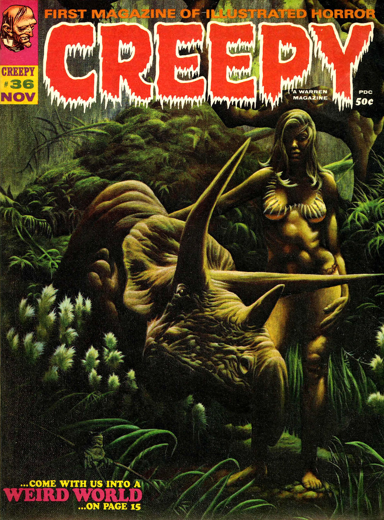 Kenneth Smith - Creepy #36 (Warren, 1970)