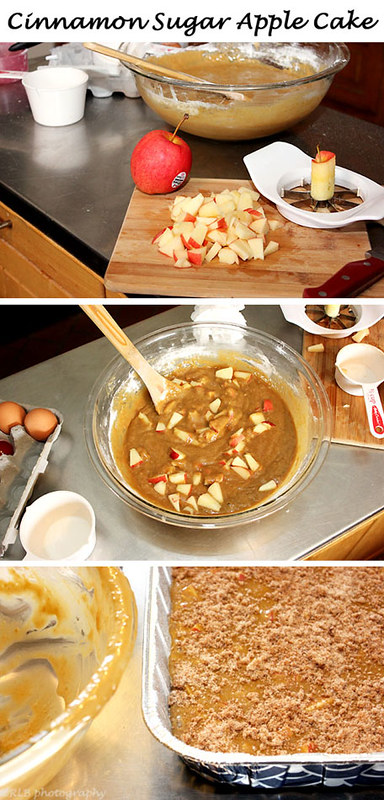 cinnamon sugar apple cake collage -no recipe yet