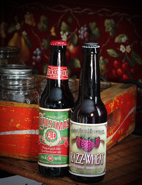 Breckenridge Christmas Ale and Oaken Barrel Razz-Wheat