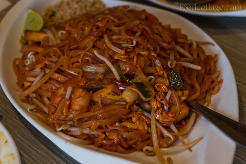 Pad Thai at Thai Basil (Toronto)