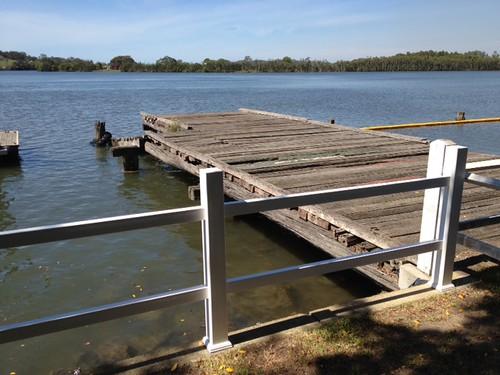 Croki wharf and pontoon