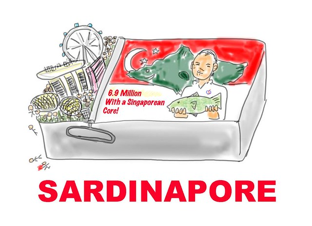 Renaming of Singapore in 2030 to Sardinapore