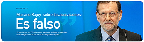 13b02 Rajoy dice que todas las acusaciones de corrupción son falsas Uti 465