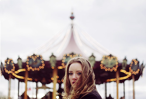 The carousel girl..